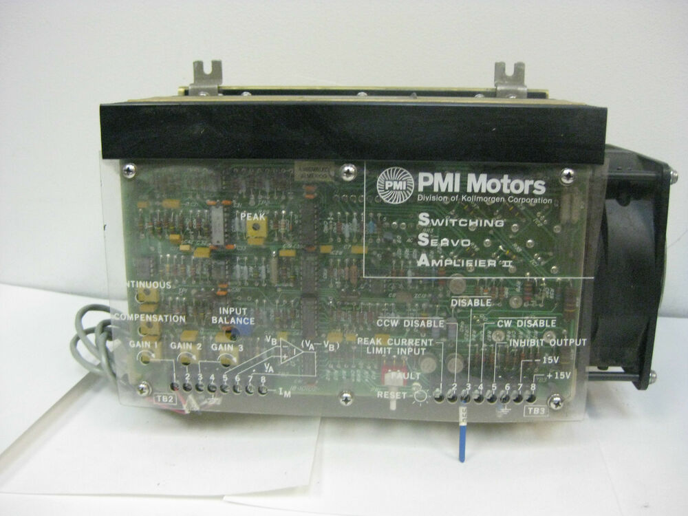 Pmi Motors Switching Servo Amplifier Ii Ssa 75 10 30 Ebay