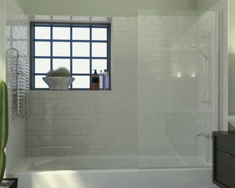 bathtub glass screen