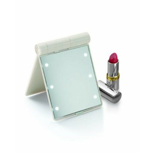 makeup mirror w dressing room style lights small 4 5 x 3 5 for. Black Bedroom Furniture Sets. Home Design Ideas