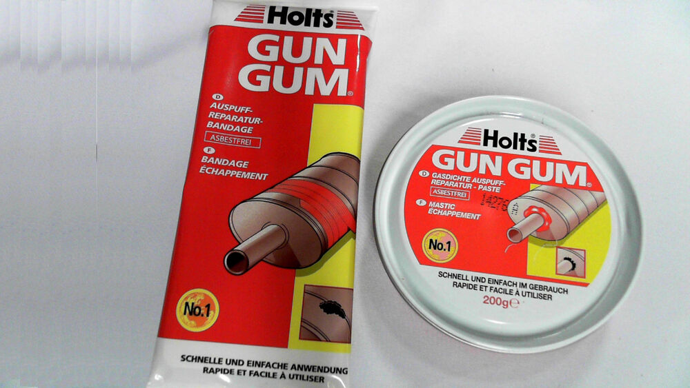 holts gun gum auspuff reparatur paste bandage set schalld mpfer reperatur ebay. Black Bedroom Furniture Sets. Home Design Ideas