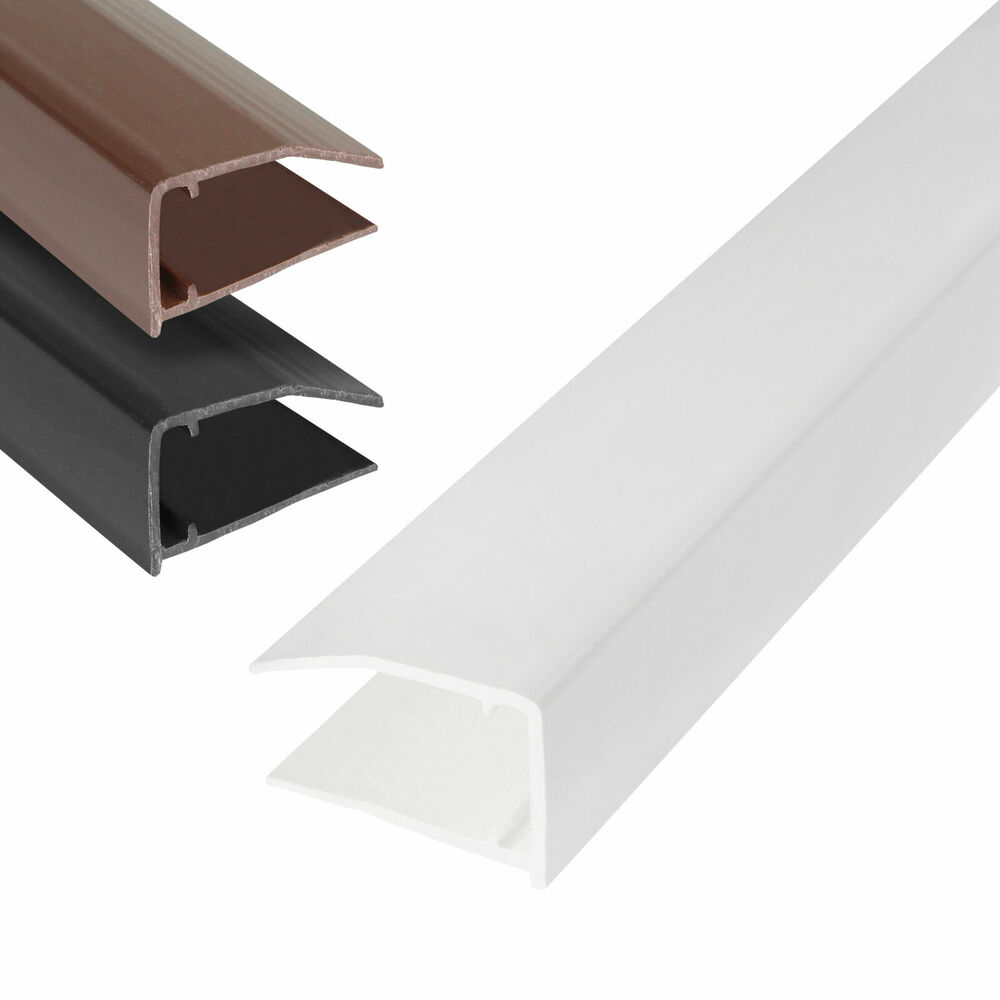 10mm polycarbonate glass roofing sheet end cap closure conservatory u profile ebay. Black Bedroom Furniture Sets. Home Design Ideas