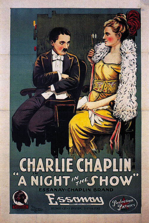 A Night in the Show (1915) Charlie Chaplin movie poster ...