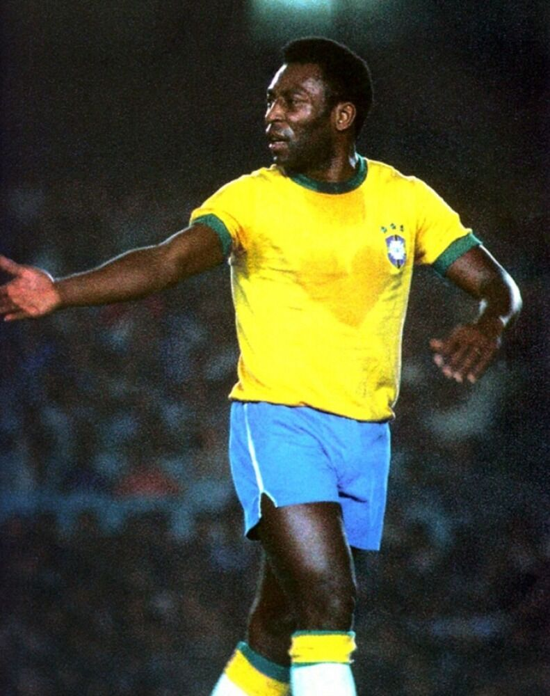 pele brazilian world cup soccer player at 1970 games 8x10 photo ebay. Black Bedroom Furniture Sets. Home Design Ideas