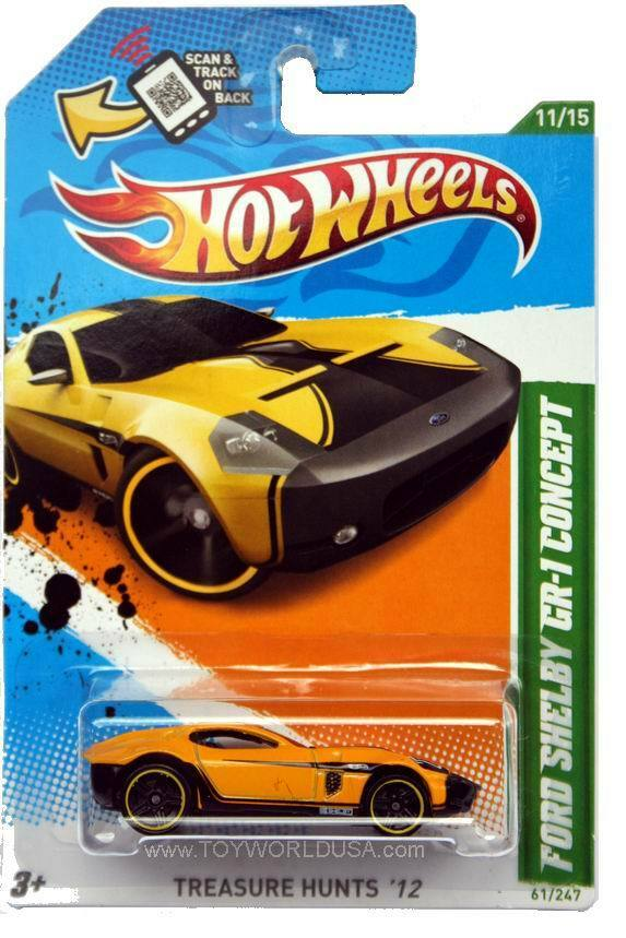 Shelby Ford Trucks >> 2012 Hot Wheels Treasure Hunt #61 Ford Shelby GR-1 Concept | eBay