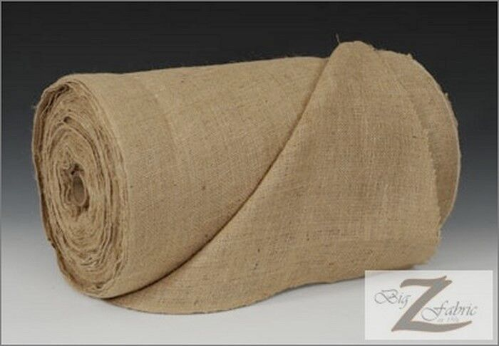 Natural Burlap Fabric Roll Lot 50 Yards 40 Quot 9oz Only 69