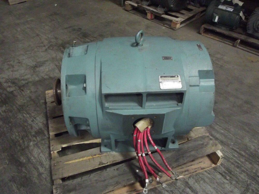 Reliance electric duty master ac motor 245hp ebay for Duty master ac motor reliance electric