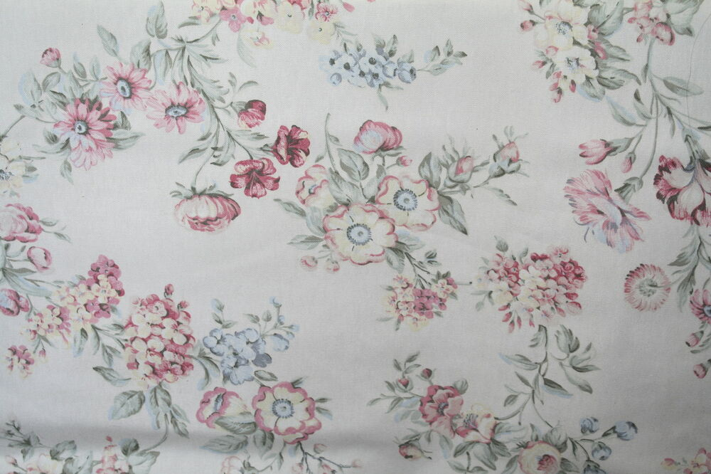 shabby chic home decor fabric shabby chic style floral bouquet decorator fabric drapery 13053