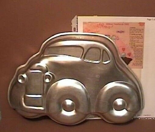 Wilton Big Comical Car Jalopy Cake Pan Instructions Hot