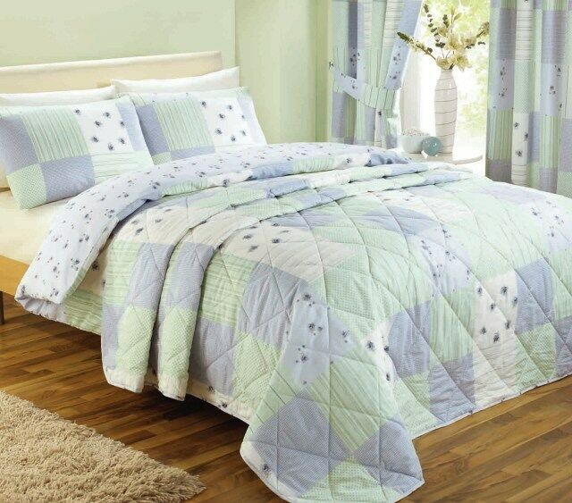 Blue Patchwork Bedding Range, Duvet / Quilt Cover