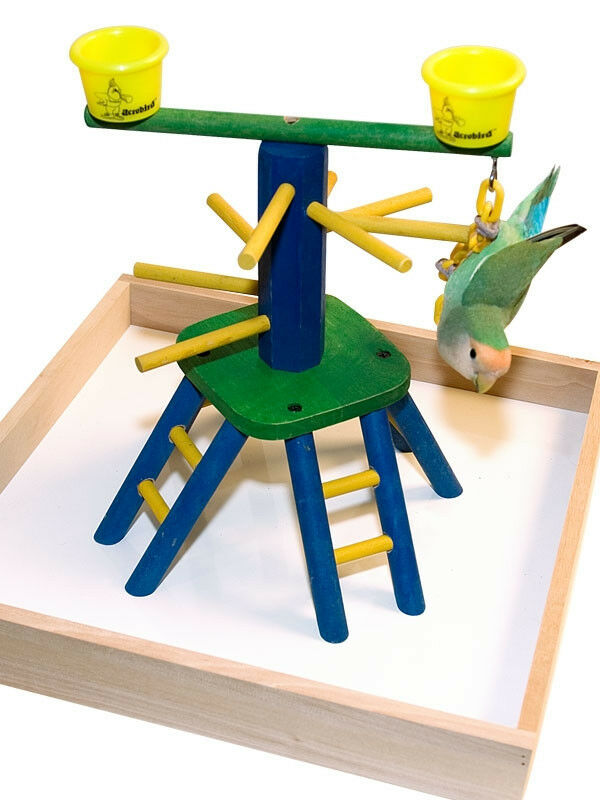 parrot perch pet bird perch play gym stand table top pyramid perch ebay. Black Bedroom Furniture Sets. Home Design Ideas