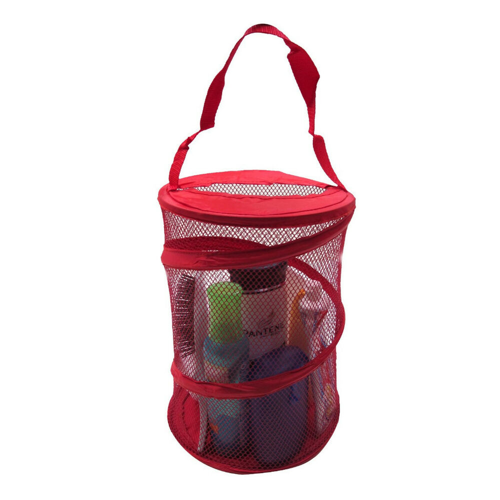 Dorm Shower Caddy - RED - *Free S&H*