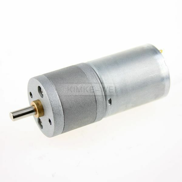 12v 15rpm High Torque Gear Box Electric Motor Small Ebay