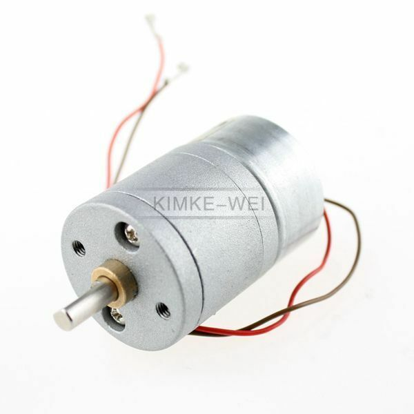 3v Dc 400rpm High Torque Electric Gear Box Motor Ebay