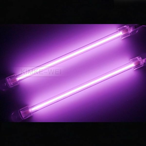 purple 15cm car auto exterior interior neon light lamp ebay. Black Bedroom Furniture Sets. Home Design Ideas