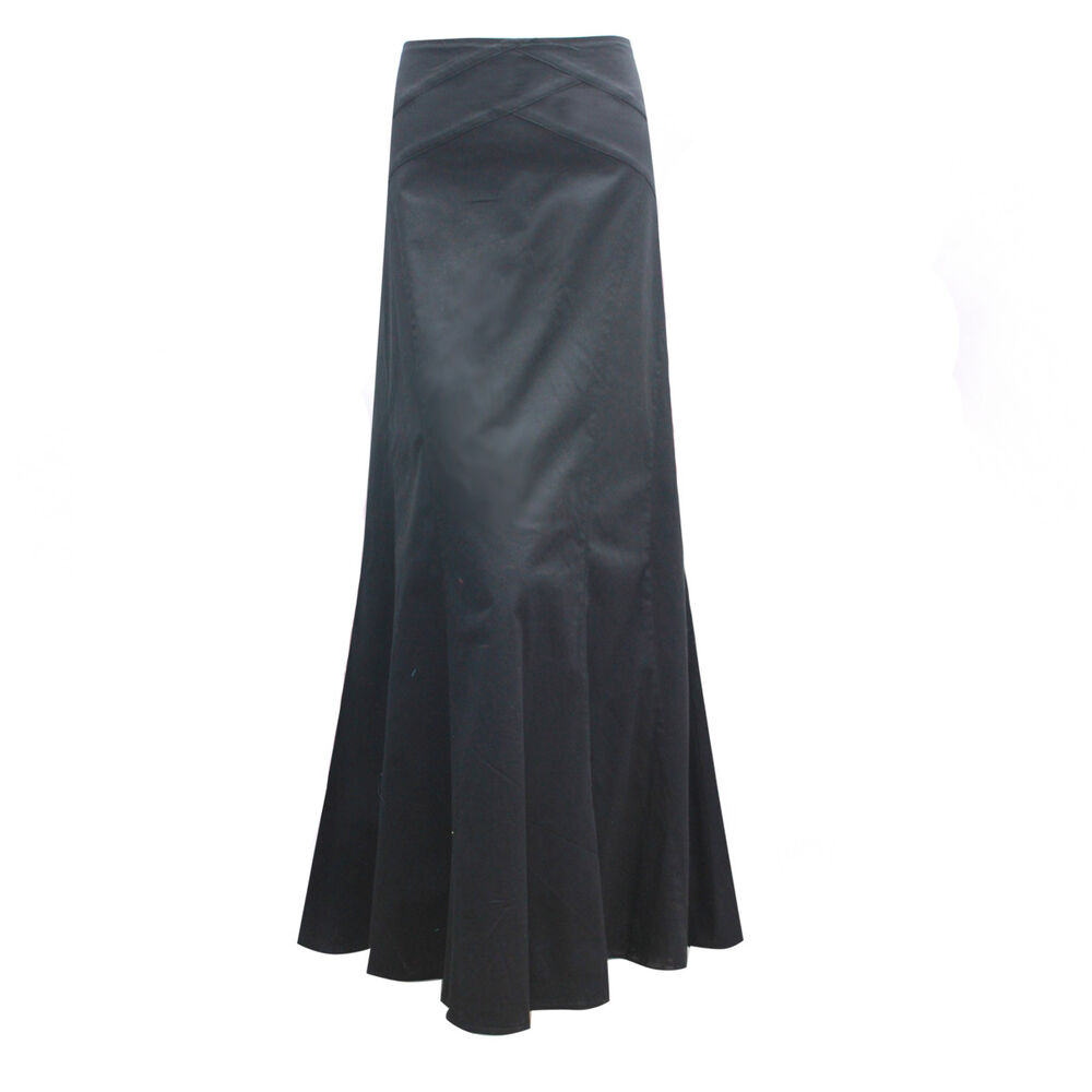 lovely length cotton maxi panel formal