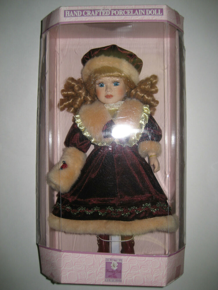 Collectible Hand Crafted Porcelain Dolls Arleen | eBay
