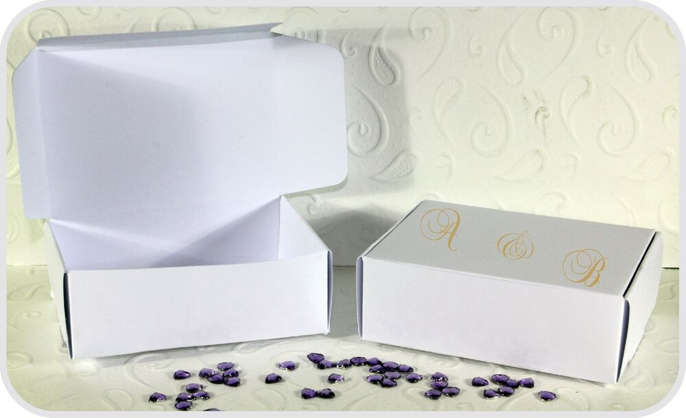 wedding cake boxes personalized personalized 50 wedding cake favour boxes 90mm x 22068