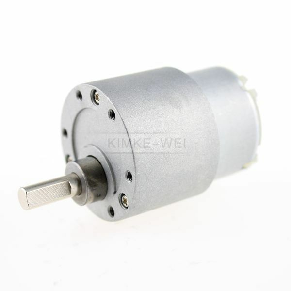 12v Dc 15 Rpm High Torque Gear Box Electric Motor Ebay