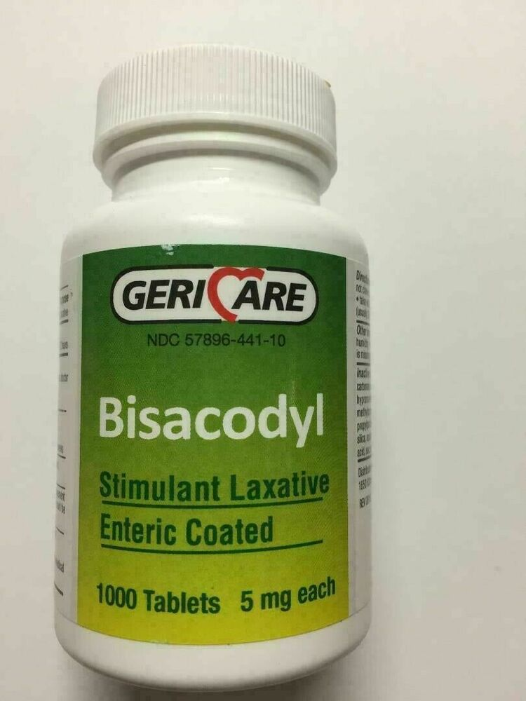 Bisacodyl 5mg Dosage