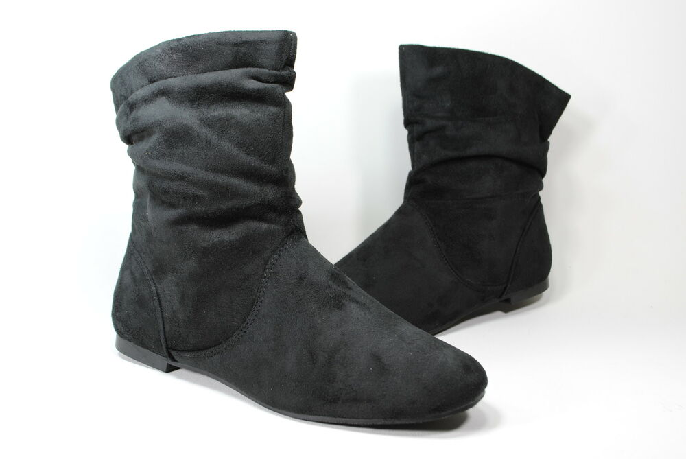 new womens suede boots black ankle boots s size sale