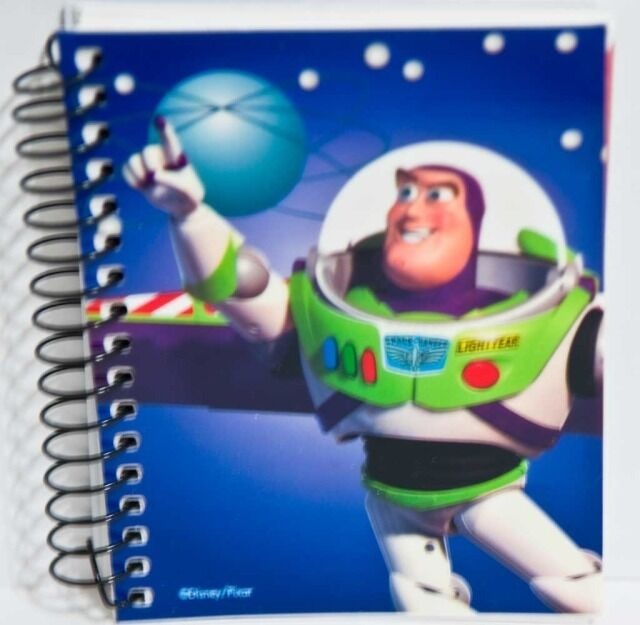 Toy Story Character List : Disney toy story buzz lightyear small spiral notebook