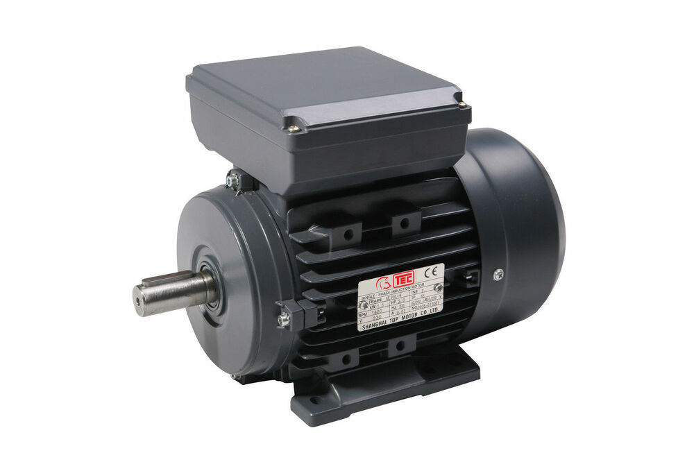 kw hp single phase electric motor 240v 1400 rpm