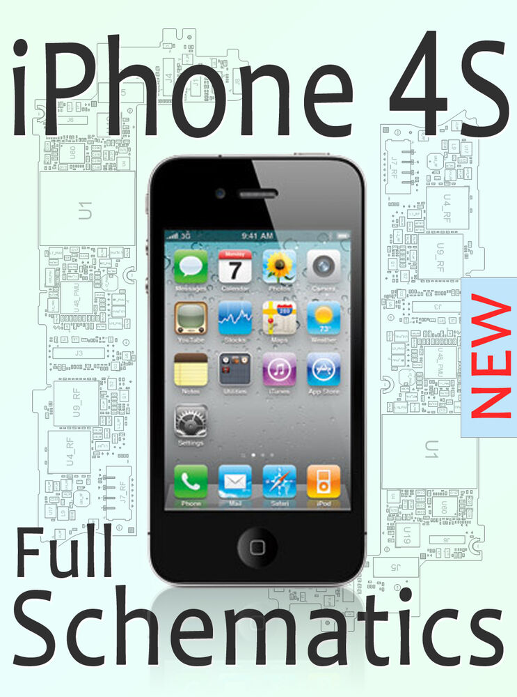 Full Schematic For New Iphone 4s Circuit Diagram Layout