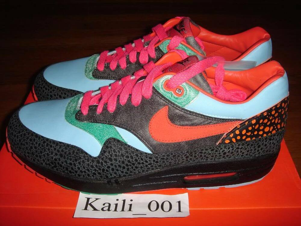 29dfaa4657c Image is loading Nike-Air-Max-1-Supreme-Atmos-Safari ...