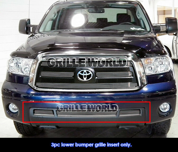 for 2010 2012 toyota tundra bumper billet grille grill insert ebay. Black Bedroom Furniture Sets. Home Design Ideas