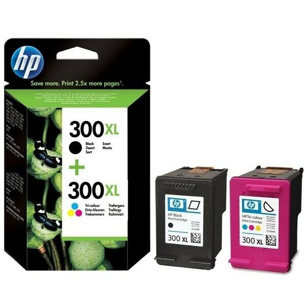 hp 300 xl black colour cartridges for f4500 f4580 f4583 remanufactured inkjet ebay. Black Bedroom Furniture Sets. Home Design Ideas