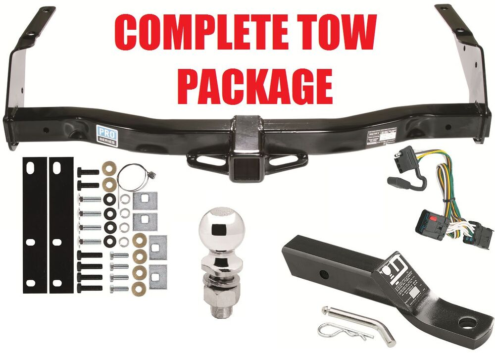 01 2003 dodge 1500 2500 3500 ram van complete trailer receiver tow hitch package ebay. Black Bedroom Furniture Sets. Home Design Ideas