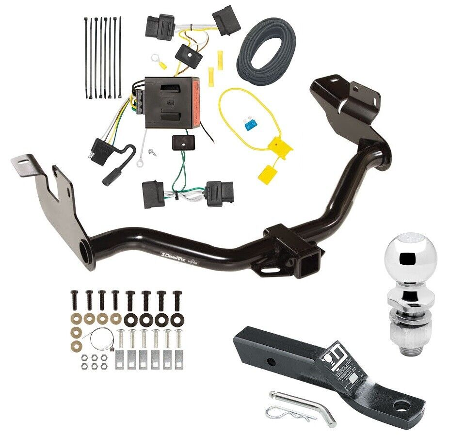 2008 12 ford escape trailer tow hitch w wiring kit 2. Black Bedroom Furniture Sets. Home Design Ideas