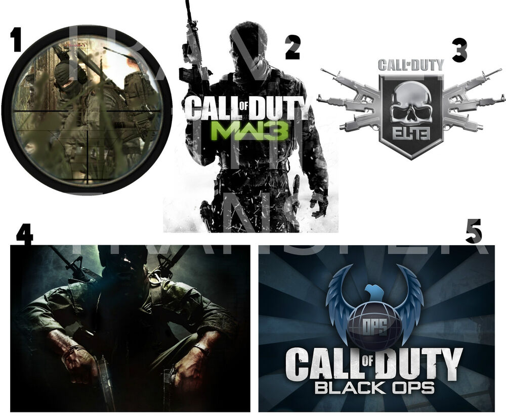 CALL OF DUTY STICKER WALL DECO MW3 BLACK OPS lot COD1  eBay