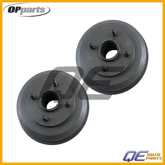 ford focus 2000 2001 2002 2003 2007 set of 2 opparts rear brake drum 40518116 ebay. Black Bedroom Furniture Sets. Home Design Ideas