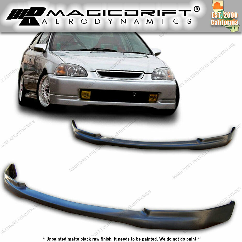96-98 Honda Civic EK CTR Japan TR JDM Front PU Lip