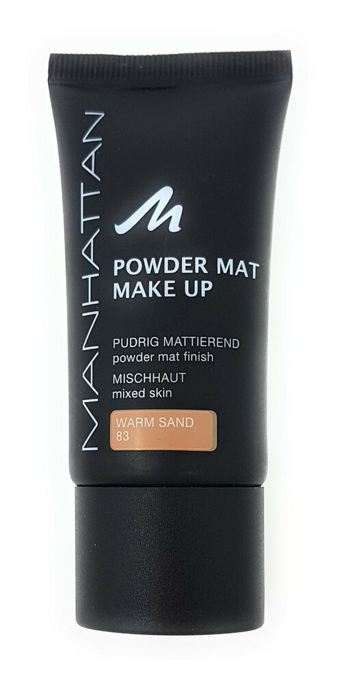 Powder Mat Make Up By Manhattan Cosmetics Ebay