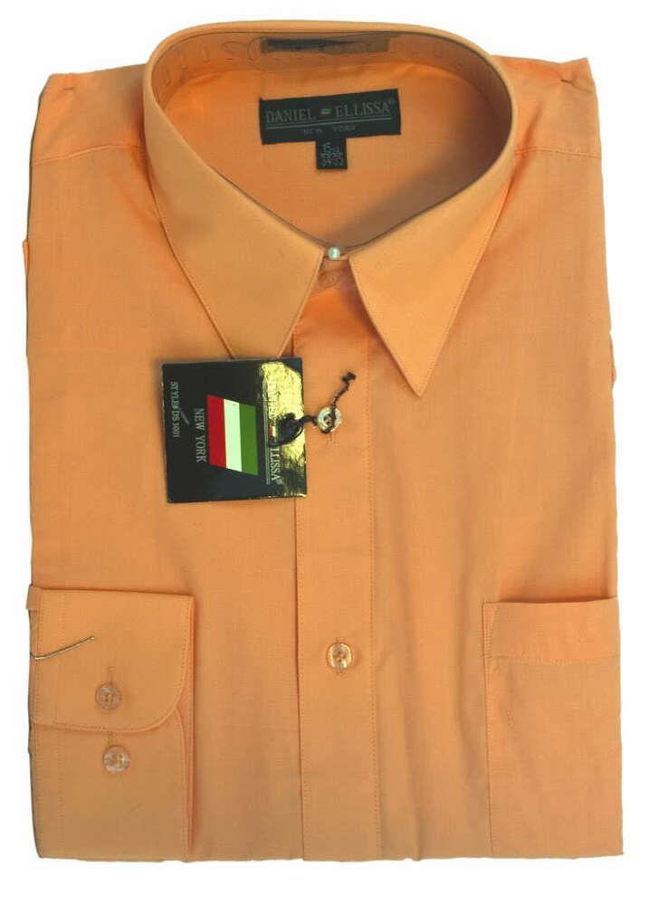 Peach Dress Shirt For Men