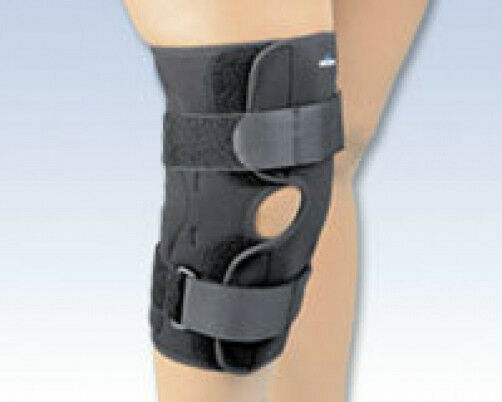 Hinged Knee Stabilizing Brace Wrap Around Sports Support