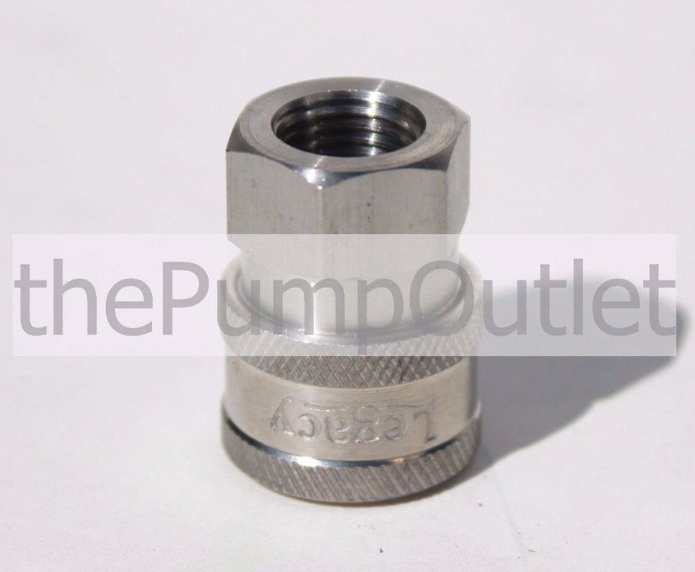 Quot fpt female quick connect socket stainless