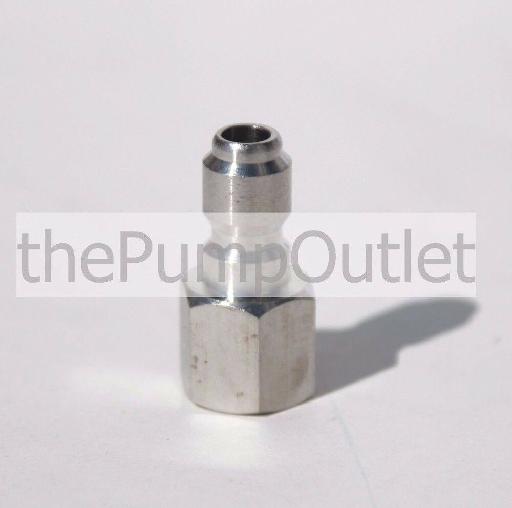 Quot fpt male quick connect stainless steel