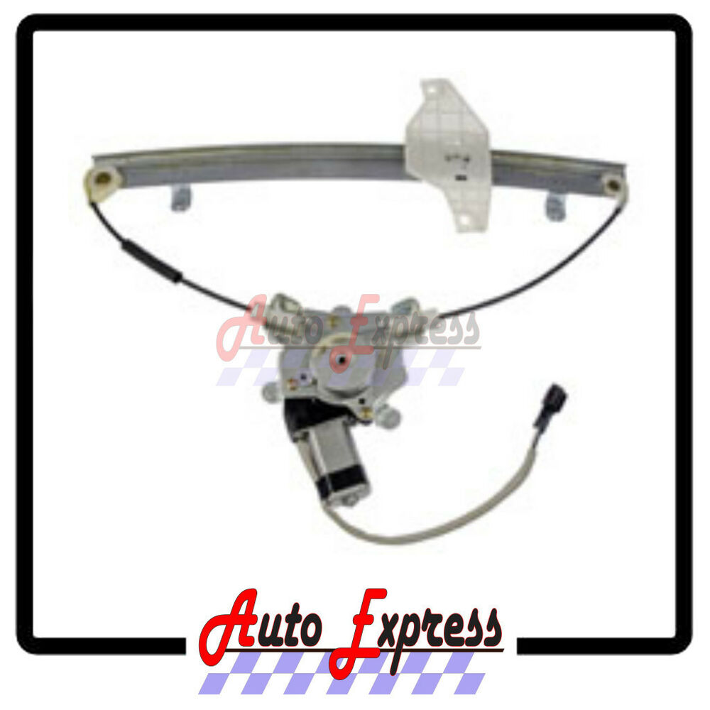 1993 Hyundai Excel Interior: Front Right Passenger Side Power Window Regulator WITH