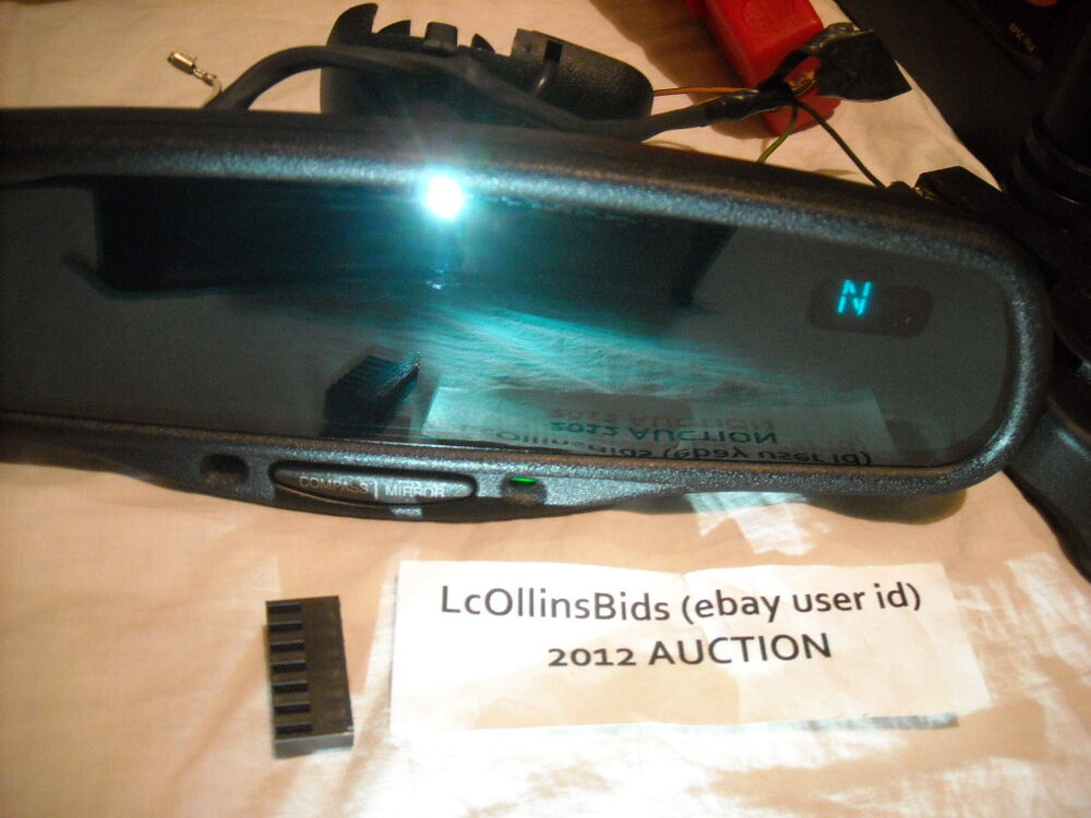 Car Rear View Mirror: Factory Lincoln Auto Dimming Inside Rear View Mirror (*8