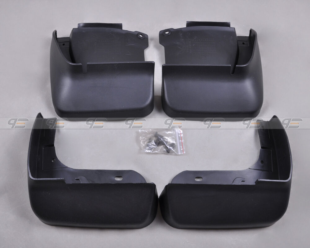 4pcs Mud Flaps Splash Guards Mudguard For 2003 2007 2006