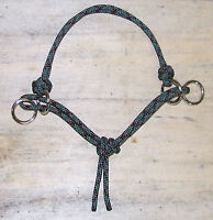 **NEW** Basic MODIFIED Side Pull Horse Rope Hackamore Bitless Bridle Attachment