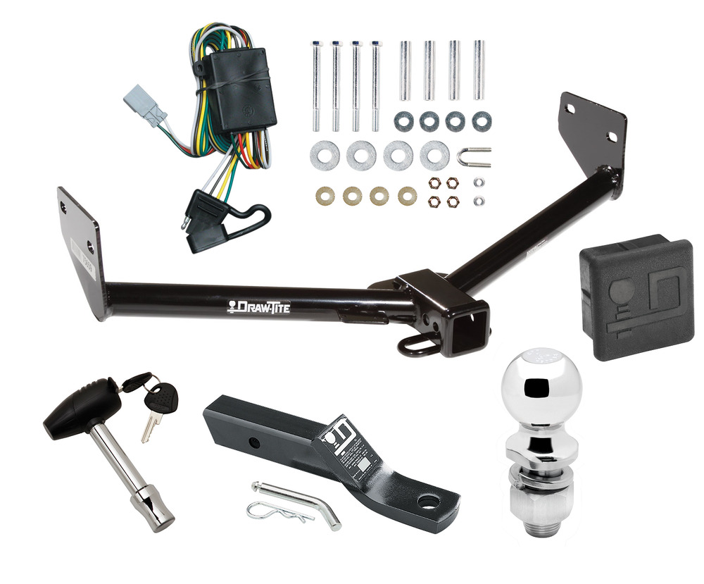 ford tow package wiring diagram trailer hitch for 03-04 honda element + wiring kit ... #9