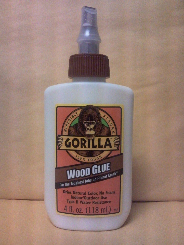 Gorilla Wood Glue 4oz Incredibly Strong 52427620200 Ebay