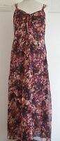 Next BNWT Blush Print Maxi Dress Size 8  RRP £60