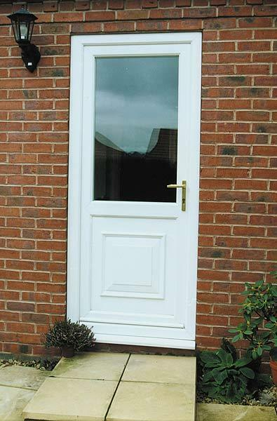 new upvc back door upvc external door made to