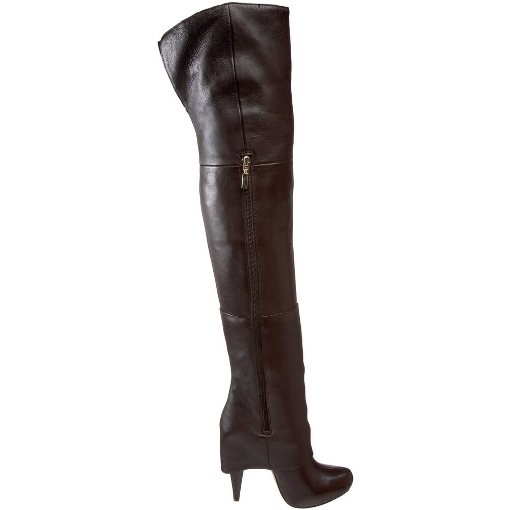 report signature fitzgard the knee boots brown 6 6 5
