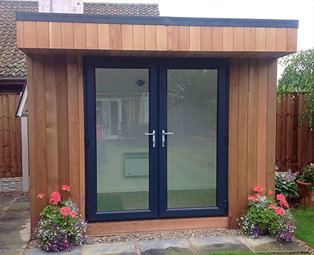 Grey upvc french doors new made to measure on 21st ebay for Upvc french doors grey